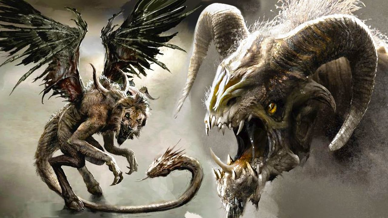 TOP 10 MONSTERS From GREEK Mythology - YouTube