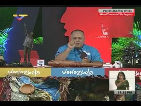 Diosdado Cabello denuncia falsificación de pasaportes de sobrinos de Cilia Flores