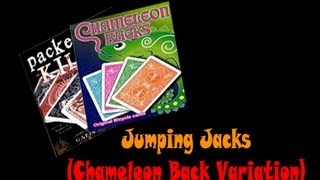 Jumping Jacks (Chameleon Backs variation)