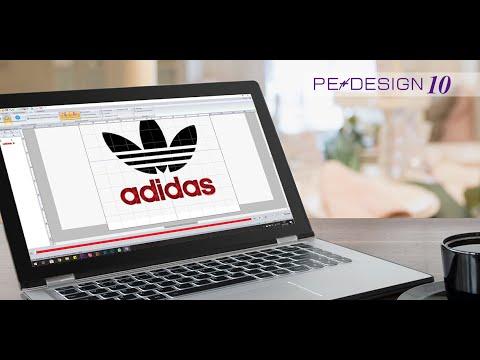 Уроки PE-Design: Создание надписи в программе