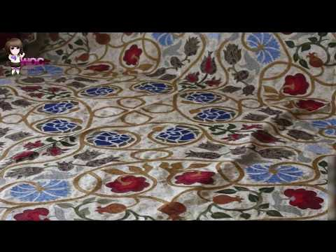 How To Sew A Coverlet With A Large Machine Application | Bedding And Quilts