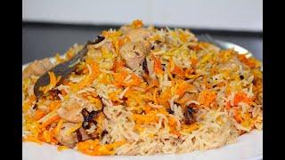 Quick Chicken Pulao   Chicken Pilau   Chicken Recipe By COOK WITH FAIZA