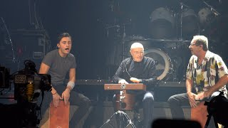 Phil Collins Live 2019 ⬘ 4K 🡆 Drum Trio⬘Something Happened on the Way to Heaven 🡄 Sept 24 Houston
