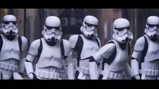 Can't Stop The Feeling! Justin Timberlake Stormtroopers Dance Moves & More Pt 3