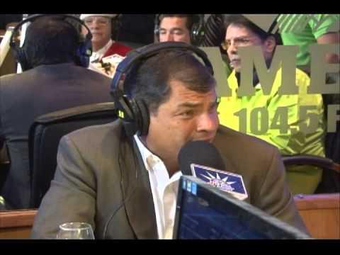 Entrevista con Radio América, Quito (23 de enero)