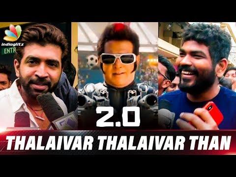 Thalaivar ku Vayasey Agala : Vignesh Shivan & Arun Vijay Reaction to 2.0   Enthiran 2 Review