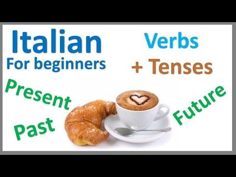 Italian Verbs | Present, Past & Future Tense | Learn by Example