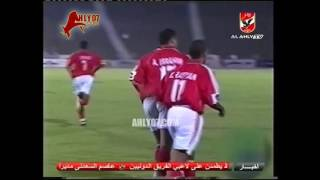 أهداف فوز الأهلي 3 مقابل 0 مزارع دينا لعلي ماهر و علاء ابراهيم و سعيد عبد العزيز الأسبوع الأول الدوري 29 أغسطس 1999