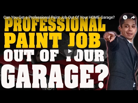 Professional Car Painting From Your Own Home