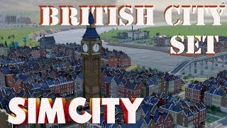 Simcity - British City Set DLC