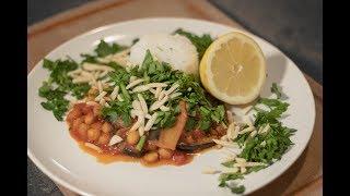 Vegan Aubergine Chickpea Stew - Easy Dinner Recipe