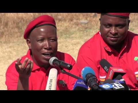 'The druggie musicians, the drunkard ministers': Malema has zero chill