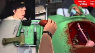 Surgeon Simulator 2013 | CIRUGIA PERFECTA, DROGADO Y TODO | #3