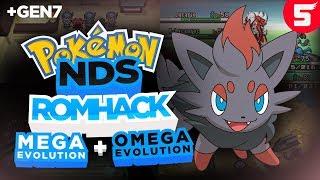 Completed Pokemon NDS Rom Hack With Mega Evolution, Omega Evolution & Gen 7 (2018)