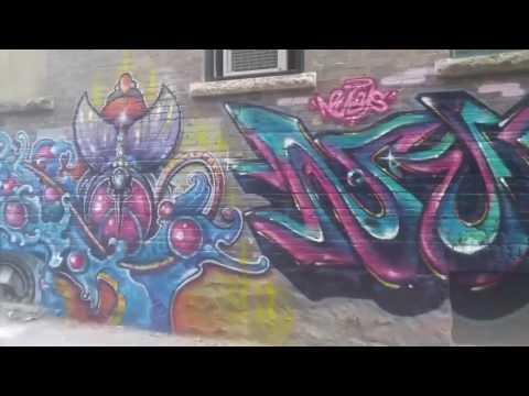 Winnipeg Graffiti Wall - 65 Albert Street