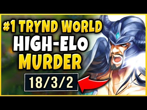 THIS IS WHY YOU SHOULD DODGE AGAINST FOGGEDFTW2 - #1 TRYND WORLD HIGH-ELO STOMP! - League of Legends