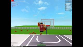 Playing Around At Free Basketball Server on ROBLOX
