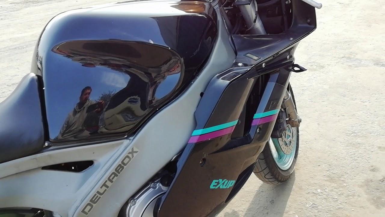 Yamaha fzr1000 - YouTube