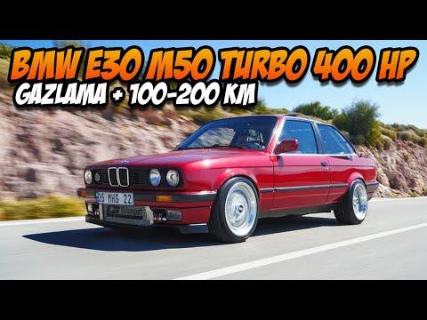 BMW E30 M50 Turbo Test Sürüşü / Ciğerli Sıralı Altı