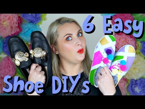 DIY Fashion: Easy DIY shoes