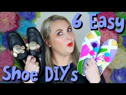 DIY Fashion: Easy DIY shoes