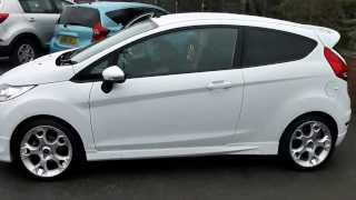 WN12OVP USED FORD FIESTA ZETEC S in WHITE at Wessex Garages, Pennywell Rd, Bristol