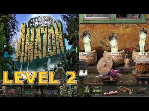 Windows Vista - Big Fish Games: Hidden Expedition: Amazon (2008) - Level 2 - Snake Puzzle (HD 1080p)