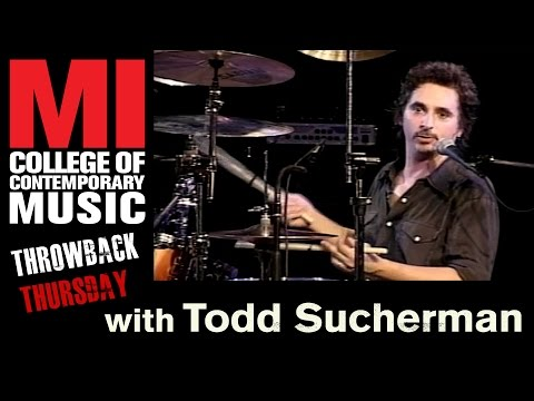 Todd Sucherman Throwback Thursday From the MI Vault