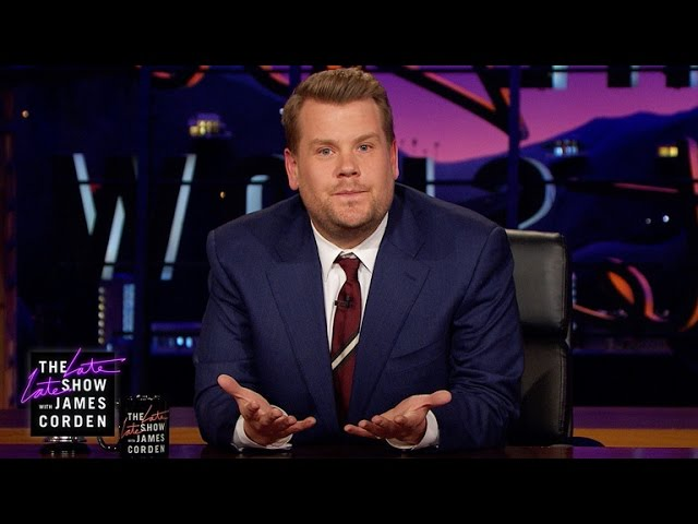 James Corden's Message to London