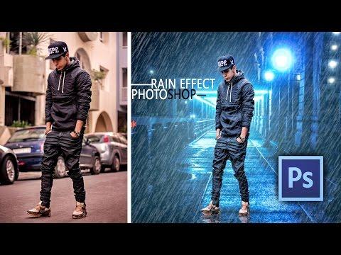 Rain Effect Photo Manipulation || PHOTOSHOP Tutorial ||