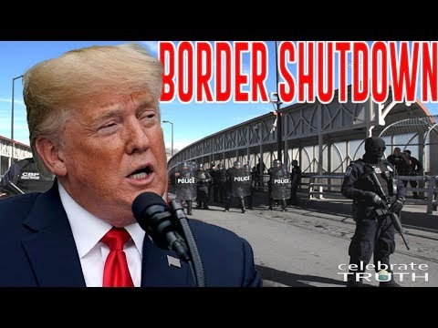 President Trump to Declare a NATIONAL EMERGENCY & Shutdown the US Border?