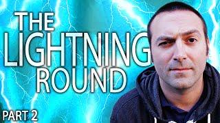 JASON BLUNDELL LIGHTNING ROUND   The Jason Blundell Interview Part 2
