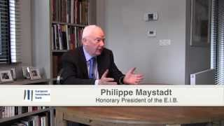 European Investment Bank - Philippe Maystadt - Honorary President - October 2014