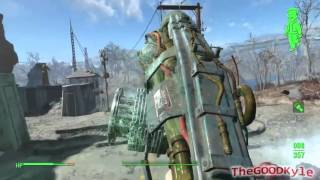 Fallout 4 Cryolater Gameplay