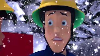 Strażak Sam Nowe odcinki Za dużo śniegu! Najlepsze uratowania  Kreskówki dla dzieci