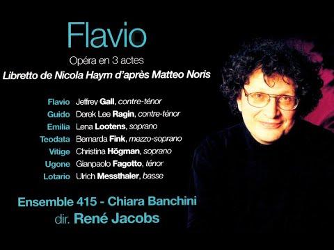 Гендель. Опера Флавио~Flavio, Re De' Longobardi  HWV 16 (1723)_русские субтитры