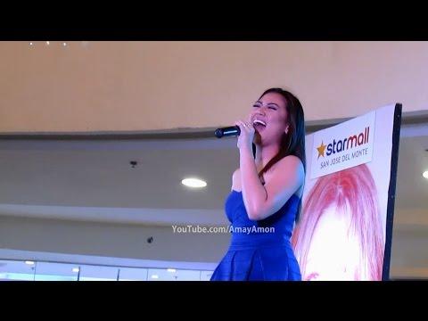 Oh Holy Night Morissette Amon LIVE at StarMall San Jose Del Monte Bulacan