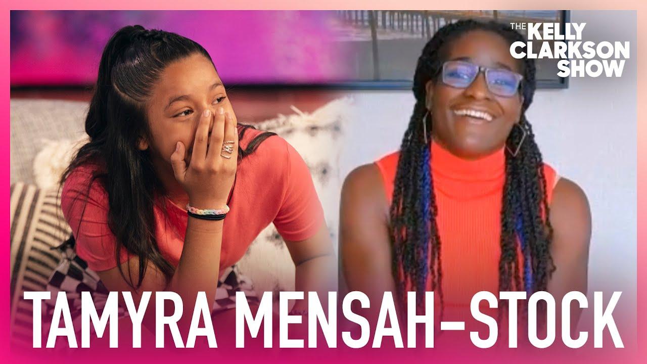 Olympic Gold Medalist Tamyra Mensah-Stock Surprises Aspiring Young Female Wrestler