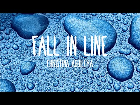 Christina Aguilera - Fall In Line ft. Demi Lovato (Lyrics)