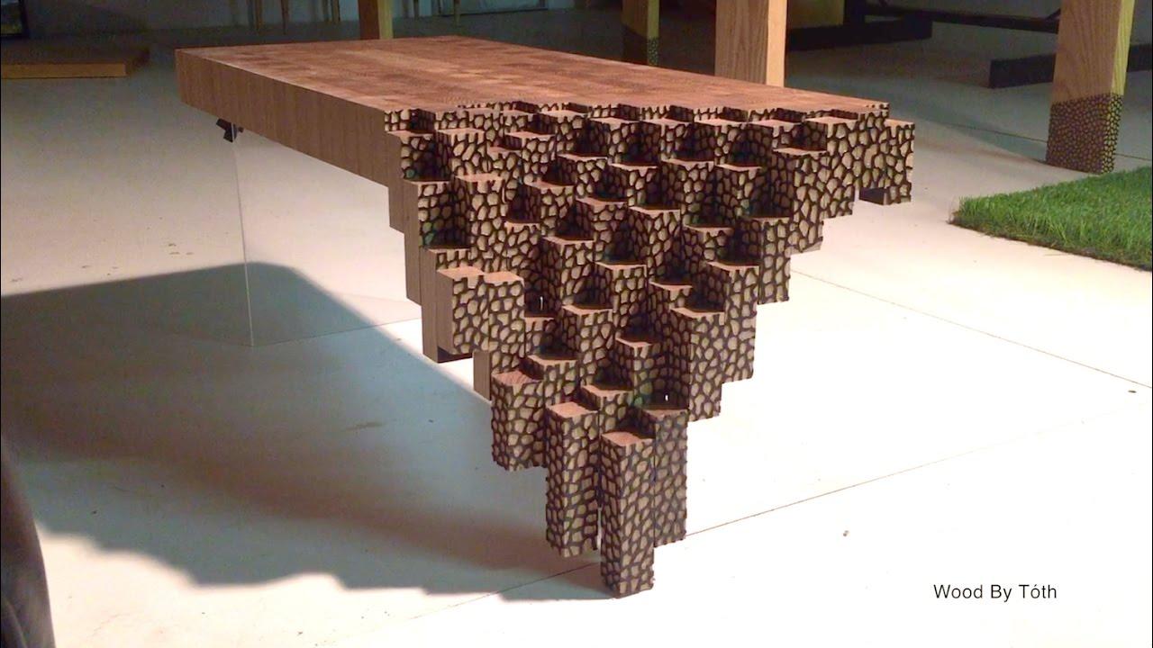 Falling Brick Coffee Table YouTube