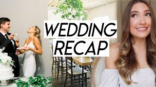 WEDDING RECAP   things I regret, best decisions, and what I wish I knew before planning a wedding!