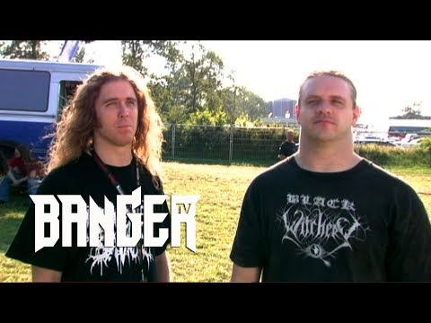 CANNIBAL CORPSE'S Alex Webster and Corpsegrinder 2004 interview | Raw & Uncut
