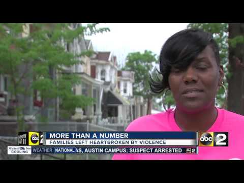 Murders in Baltimore: More than a number