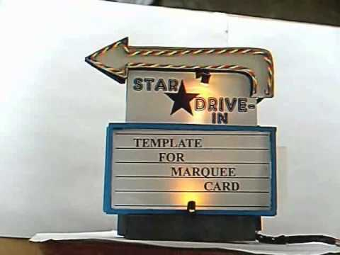 Star drive-in sign
