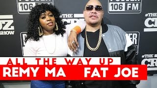 fat joe remy ma in studio performance all the way up