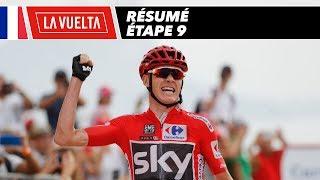 Résumé - Étape 9 - La Vuelta 2017