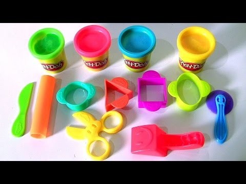 Play-Doh Starter Set Review by Disney Kids Toys Channel Funtoyscollector