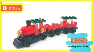 🚂 LEGO 2018 Holiday Train | Recruitment Bags Boys 30543 Unbox & Stop Motion Building Instruction