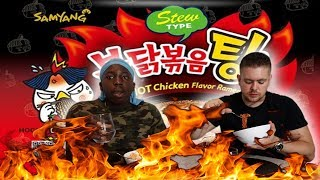 SAMYANG CHICKEN STEW  TYPE *KOREAN FIRE NOODLE* | Bradley Chlopas