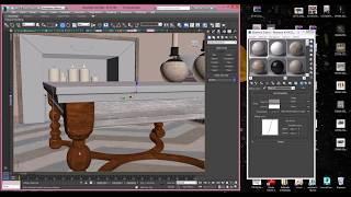 Как мы делаем картинки в 3D Max. Обзор квартиры во время ремонта.